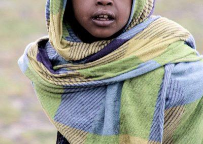 Niño en las Montañas Simien, Etiopía (23 de octubre de 2017) | © Loreto Paredes