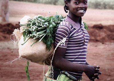 Joven en la zona de Konso, suroeste de Etiopía (11 de junio de 2016) | © Loreto Paredes