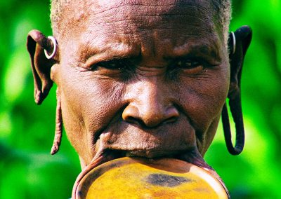 Anciana de la tribu surma | Valle del Río Omo, Etiopía (07 de junio de 2016) | © Loreto Paredes Castro