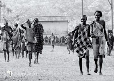Poblado de la tribu Surma | Región de Kibish (Valle del Río Omo), sur de Etiopía (07 de junio de 2016) | © Juan-Pablo Guevara